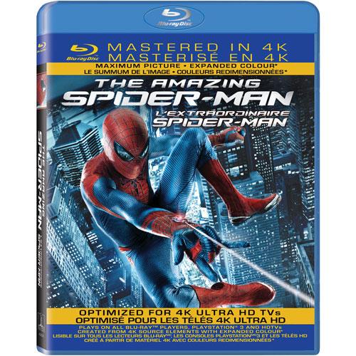 The Amazing Spider-Man (4K-Remastered) (Bilingual) (Blu-ray) (2012)