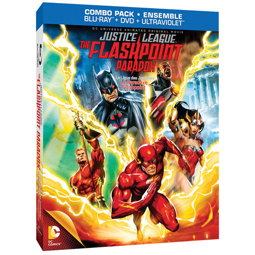 DC Universe: Justice League: Flashpoint Paradox (Blu-ray)