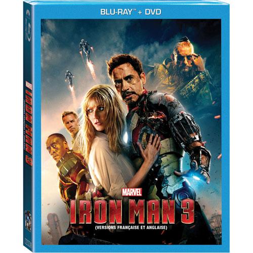 Iron Man 3 (bilingue) (combo Blu-ray) (2013)