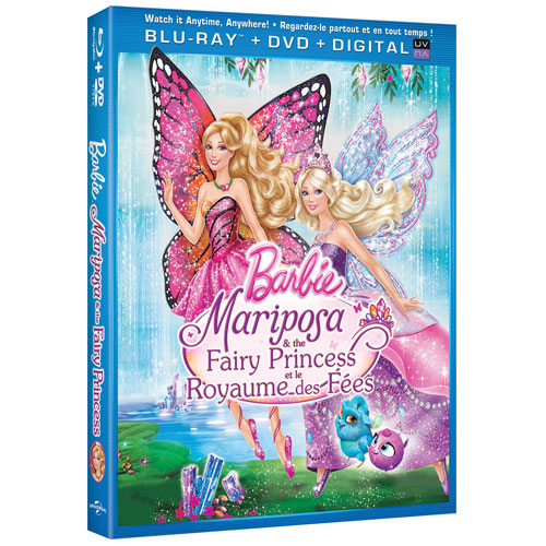 Barbie Mariposa & Fairy Princess (Combo de Blu-ray)
