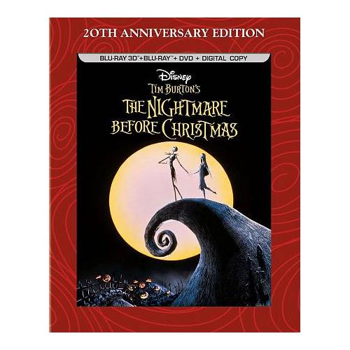 Tim Burtons Nightmare Before Christmas (Combo Blu-ray 3D)