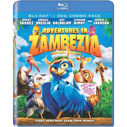 Adventures In Zambezia (Combo de Blu-ray)
