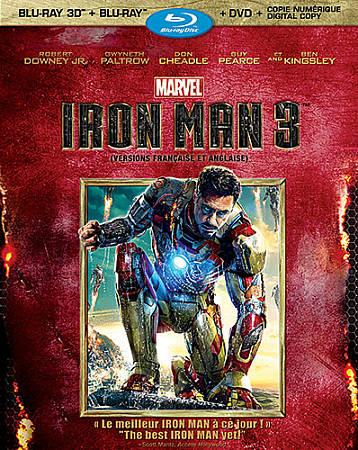 Iron Man 3 (Bilingue) (Combo Blu-ray 3D) (2013)
