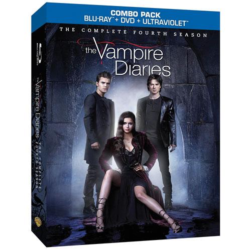 Vampire Diaries: L'intégrale de la quatrième saison (Blu-ray)