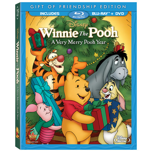 Winnie The Pooh: Very Merry Pooh Year (Blu-ray Combo)
