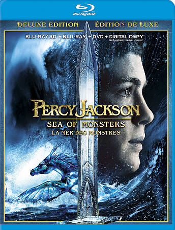 Percy Jackson: Sea of Monsters (combo Blu-ray 3D) (2013)