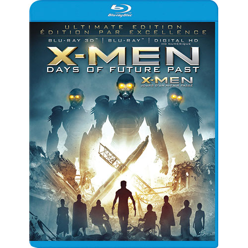X-Men: Days of Future Past (3D Blu-ray) (2014)