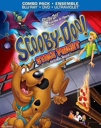 Scooby-Doo! Stage Fright (Blu-ray Combo)