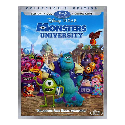 Monsters University (Blu-ray Combo) (2013)