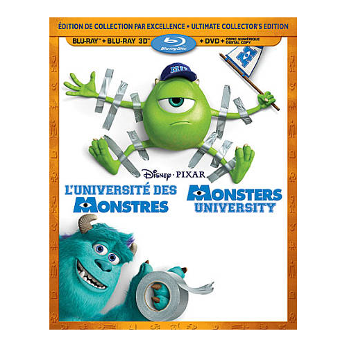 Monsters University (Bilingual) (3D Blu-ray Combo) (2013)