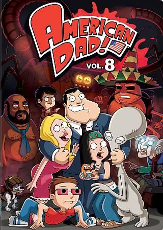 American Dad Vol 8