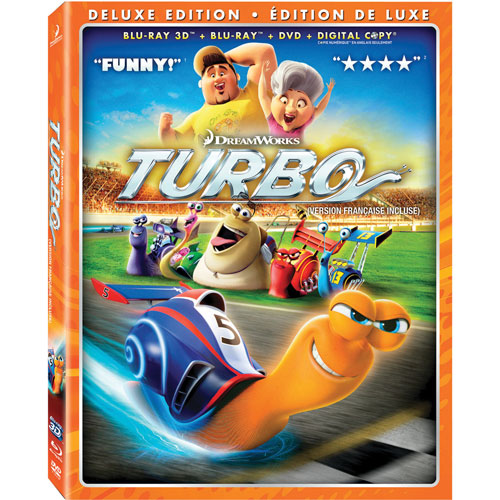 Turbo (3D Blu-ray Combo) (2013)