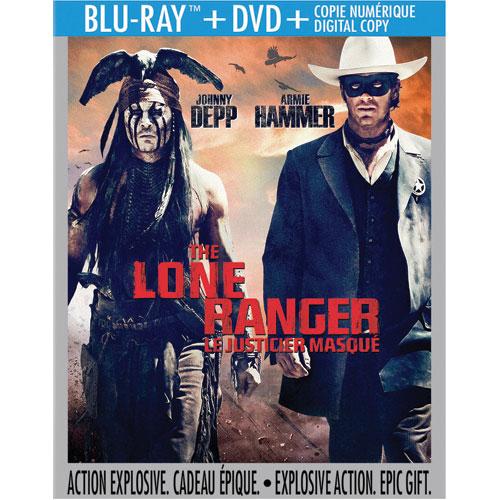 Lone Ranger (Bilingual) (Blu-ray Combo) (2013)