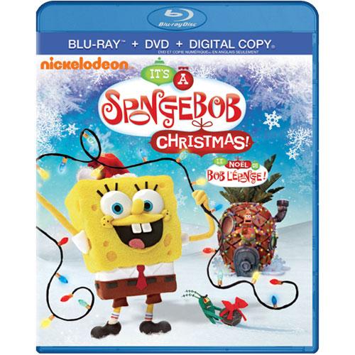 It's A SpongeBob Squarepants Christmas! (Blu-ray Combo)