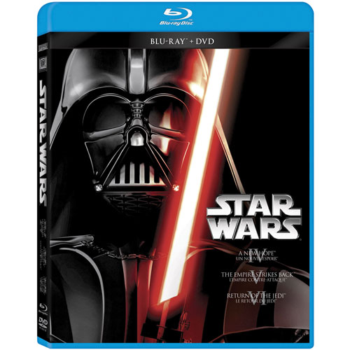 Star Wars IV - VI (Blu-ray Combo)