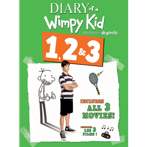Diary of a Wimpy Kid (3-Pack) (Blu-ray)
