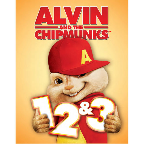 Alvin & The Chipmunks 1-3 (Blu-ray)