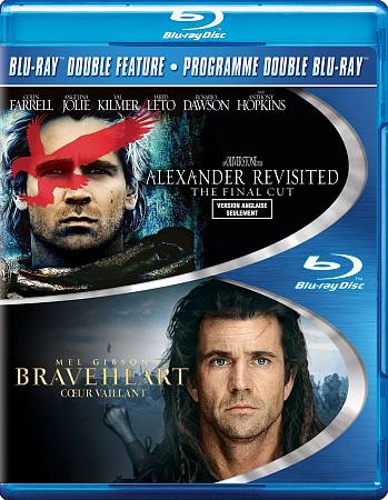 Braveheart/ Alexander Revisited (Bilingue) (Blu-ray)