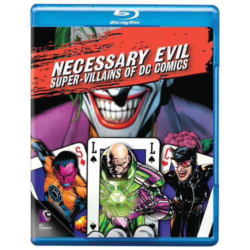 Necessary Evil: Villains Of DC Comics (Blu-ray)