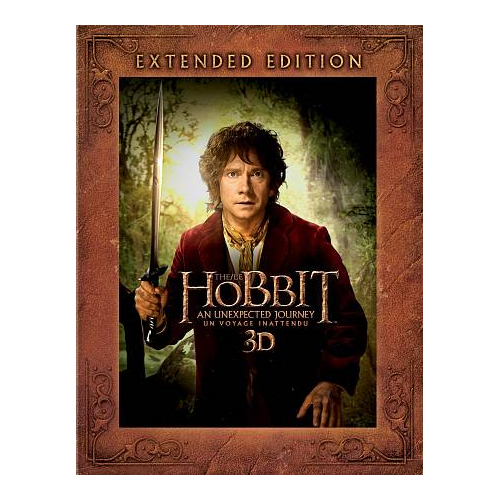 The Hobbit: An Unexpected Journey (Bilingual) (Extended Edition) (3D Blu-ray)