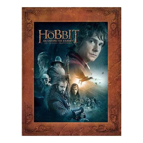 The Hobbit: An Unexpected Journey (bilingue) (Version longue) (Blu-ray)