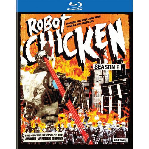 Robot Chicken: saison 6 (Blu-ray)
