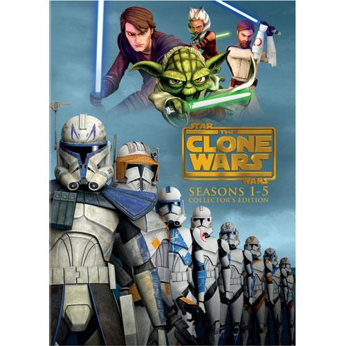 Star Wars: The Clone Wars: Season 1-5 (Collector's Edition)