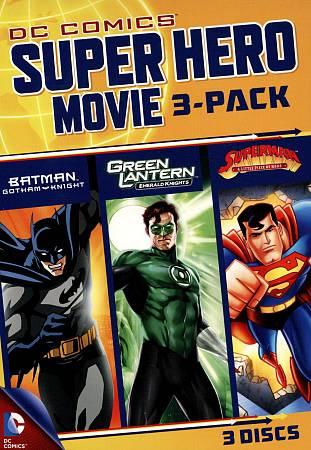 DC Superheroes Movies 3-Pack
