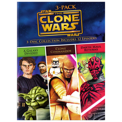 Star Wars: The Clone Wars: 3-Pack