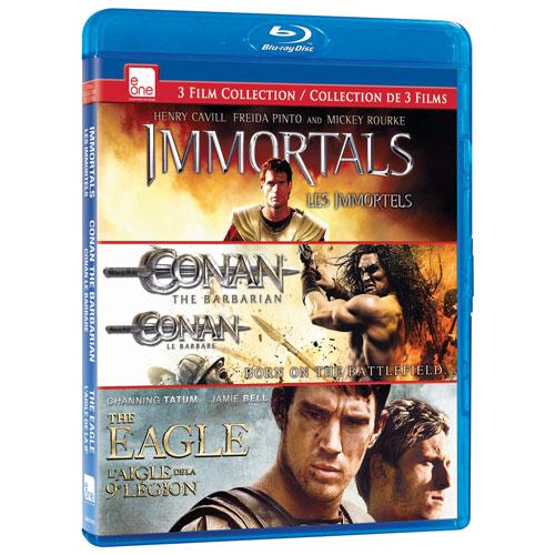 Immortals/ Conan/ The Eagle (Blu-ray)
