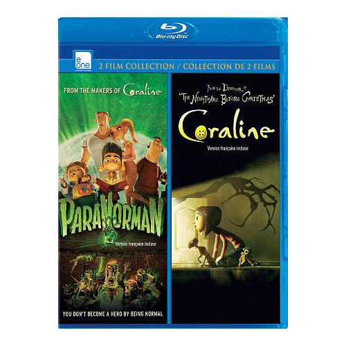 Paranorman/ Coraline (Blu-ray)
