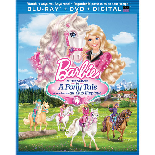 Barbie & Her Sisters in A Pony Tale (combo Blu-ray)
