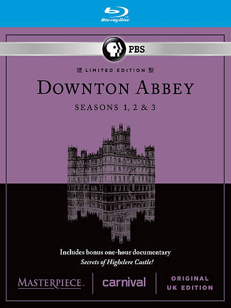 Downton Abbey: saisons 1-3 (anglais) (Blu-ray)