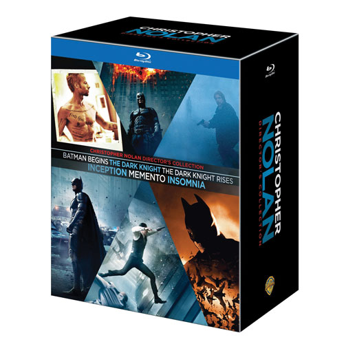 Collection Christopher Nolan (Blu-ray)
