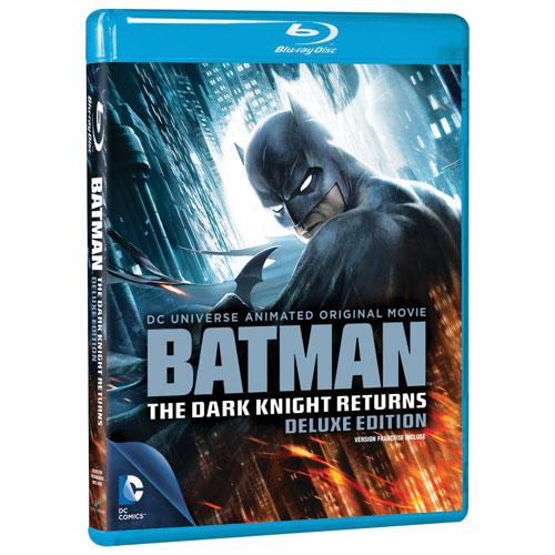 DC Universe: Batman: Dark Knight Returns (Édition de luxe) (Blu-ray)