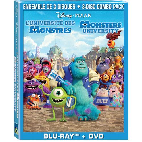 Monsters University (Bilingual) (Blu-ray Combo)
