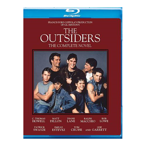 Outsiders (30th Anniversary: Complete Novel Edition) (Blu-ray)