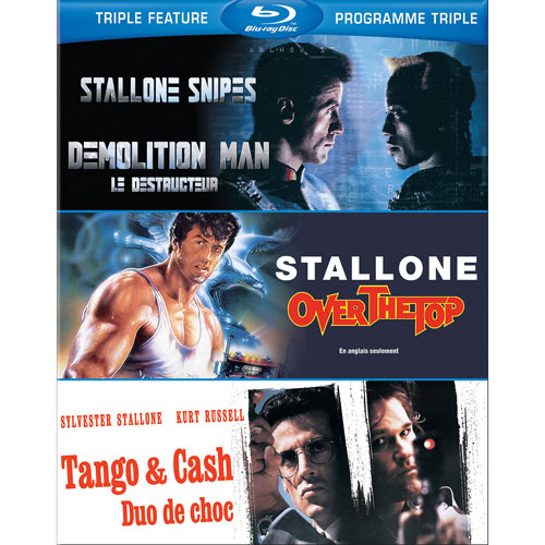 Sylvester Stallone: Triple Features (Bilingue) (Blu-ray)