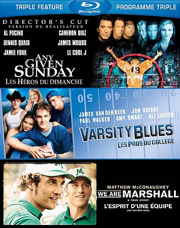 Varsity Blues- Any Given Sun- Marshall (Blu-ray)