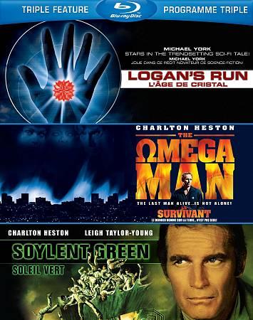 Soylent Green- Logan's Run- Omega Man (Blu-ray)
