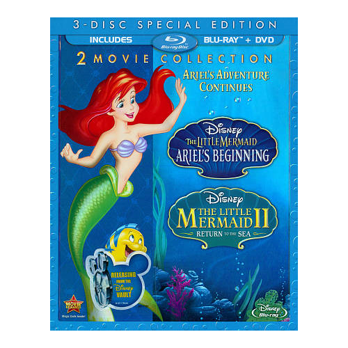 Little Mermaid II: Return to the Sea/The Little Mermaid: Ariel's Beginning (Bilingual)