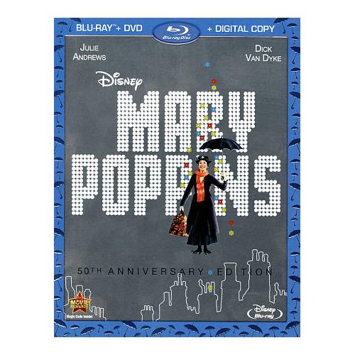 Mary Poppins (50th Anniversary Edition) (Blu-ray) (1964)