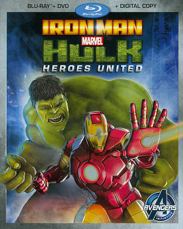 Marvel's Iron Man & Hulk: Heroes United (Combo de Blu-ray)