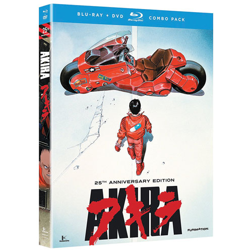 Akira (édition 25e anniversaire) (Combo de Blu-ray)