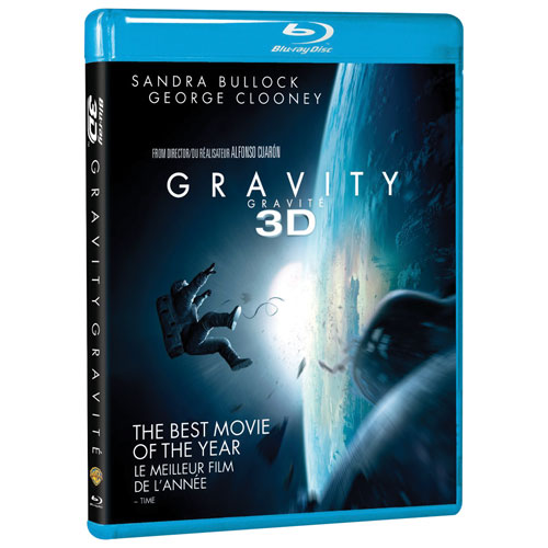 Gravity (Bilingual) (3D Blu-ray)