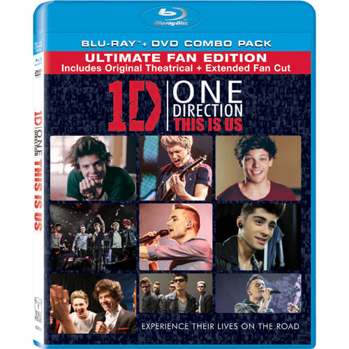 One Direction: This Is Us (Combo de Blu-ray)