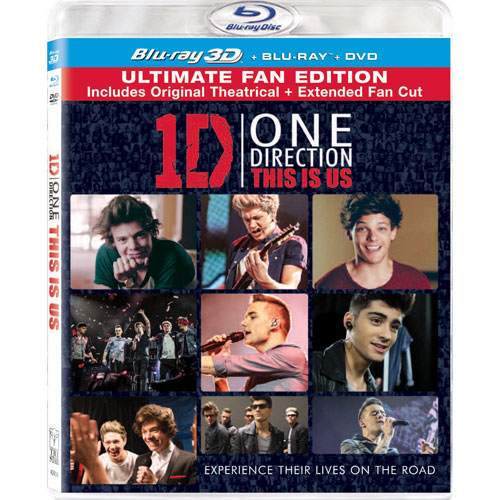 One Direction: This Is Us (Combo de Blu-ray 3D)