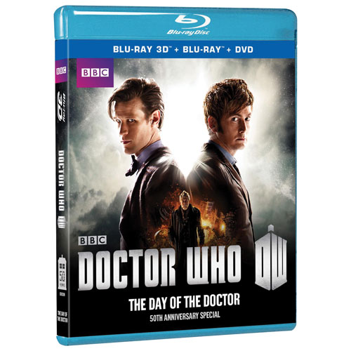 Doctor Who: Day Of The Doctor (50th Anniversary Edition) (3D Blu-ray Combo)