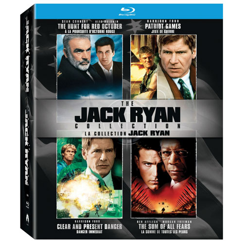 The Jack Ryan Collection (Bilingue) (Blu-ray)