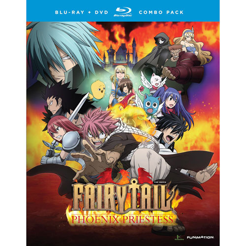 Fairy Tail: Phoenix Priestess (Combo Blu-ray)